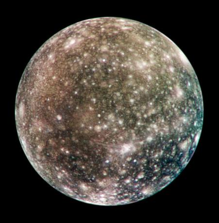Callisto. Source: NASA/JPL/DLR