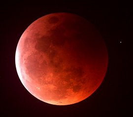 "The so-called ""blood moon""."