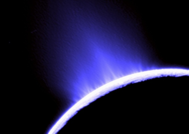 Enceladus Ice Geysers Credit: Cassini Imaging Team, SSI, JPL, ESA, NASA