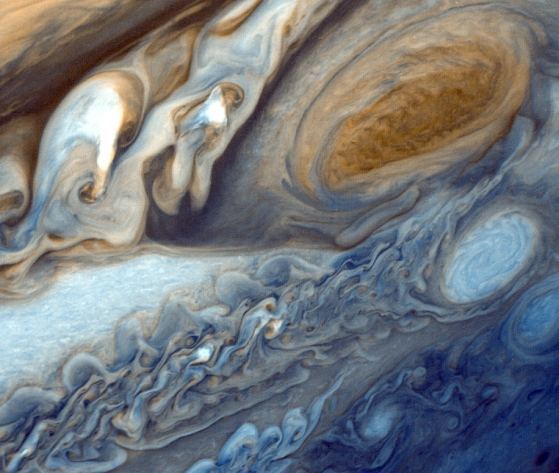 View of Jupiter from Voyager 1. Credit: NASA