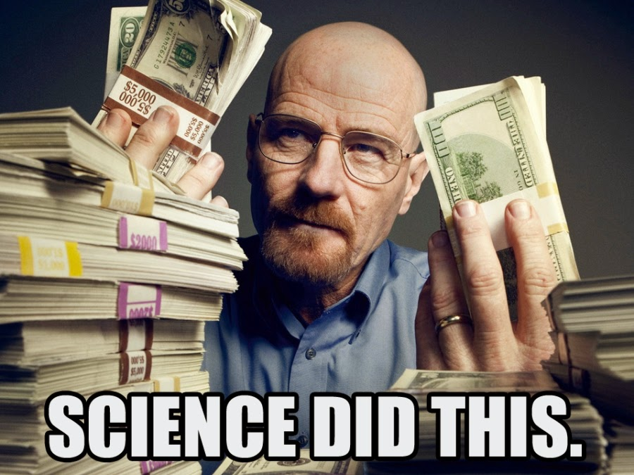 Science and Money