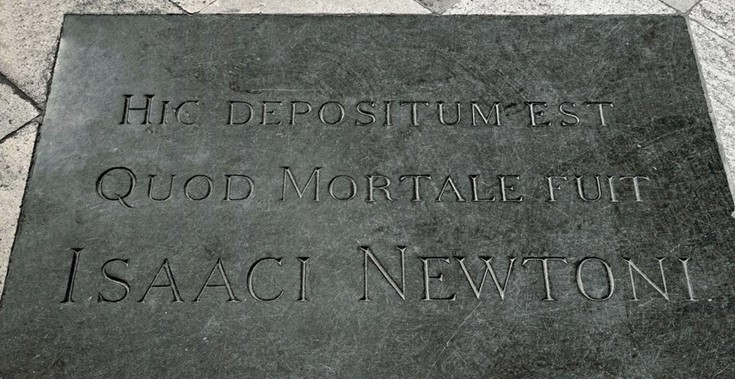 isaac-newton-grave-westminster-abbey